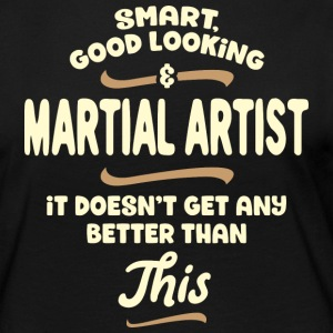 Intelligent, handsome and combat ... - Women's Premium Longsleeve Shirt
