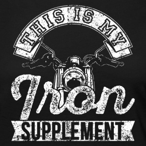 This is my Iron supplement Motorbike - Women's Premium Longsleeve Shirt
