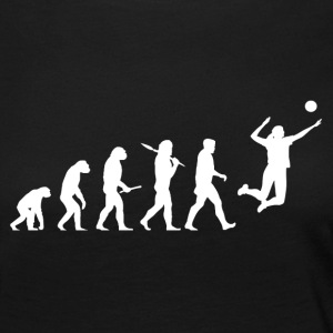 Evolution Volleyball Woman Sport funny - Women's Premium Longsleeve Shirt