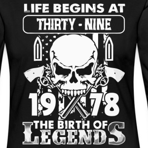 1978 the birth of Legends shirt - Women's Premium Longsleeve Shirt