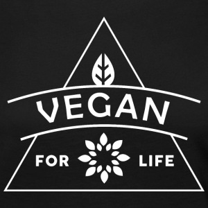 VEGAN FOR LIFE - Women's Premium Longsleeve Shirt