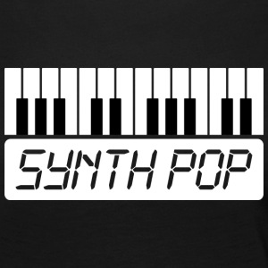 SYNTH-POP MUSIC (1) - Dame premium T-shirt med lange ærmer