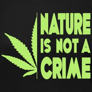 nature is not a crime - Women's Premium Longsleeve Shirt