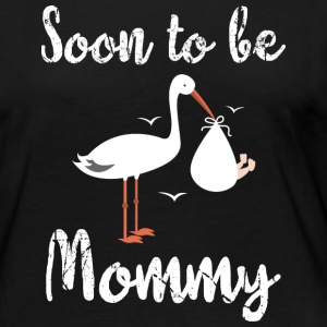 Soon to be mommy - muttertag - Women's Premium Longsleeve Shirt