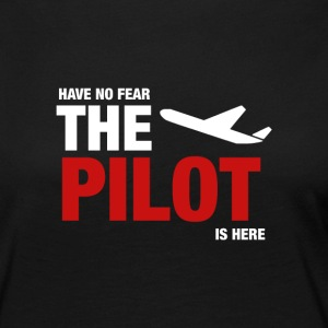 Have No Fear, The Pilot Is Here - Women's Premium Longsleeve Shirt