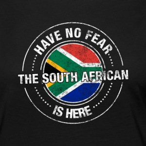 Avez-No Fear The South African Is Here Shirt - T-shirt manches longues Premium Femme