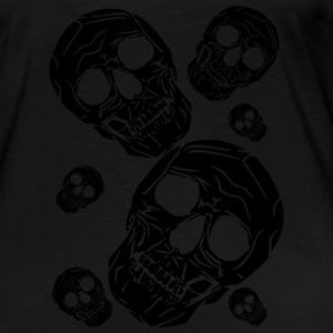 multiple skulls - Women's Premium Longsleeve Shirt