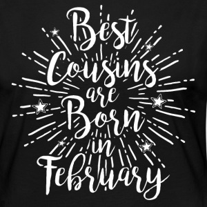 Best cousins ​​are born in February - Women's Premium Longsleeve Shirt