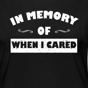 In memory ... funny sayings - Women's Premium Longsleeve Shirt