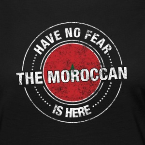 Avez-No Fear The Moroccan Is Here Shirt - T-shirt manches longues Premium Femme