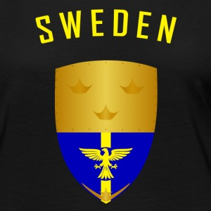 SWEDEN CROWNS SHIELD - Women's Premium Longsleeve Shirt