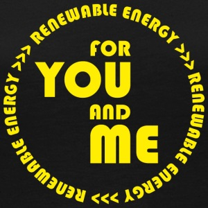 RENEWABLE energy for you and me - yellow - Frauen Premium Langarmshirt