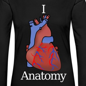 I love Anatomy - Women's Premium Longsleeve Shirt