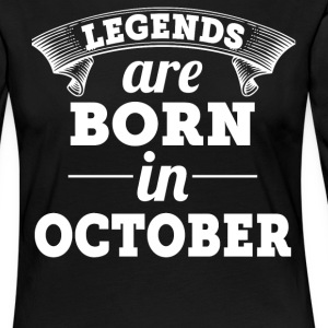 Legends are born in December gift shirt - Women's Premium Longsleeve Shirt