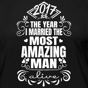 Wedding 2017 - Best Man - Långärmad premium-T-shirt dam