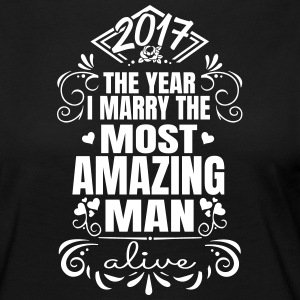 Wedding / Engagement 2017 Best Man - Långärmad premium-T-shirt dam