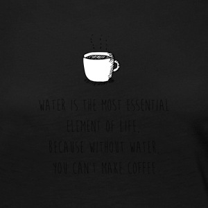 Water for Coffee - Women's Premium Longsleeve Shirt