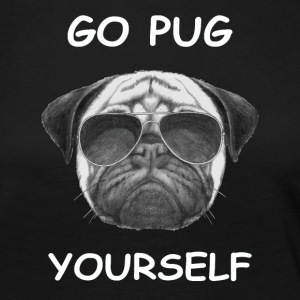 go pug yourself know - Women's Premium Longsleeve Shirt