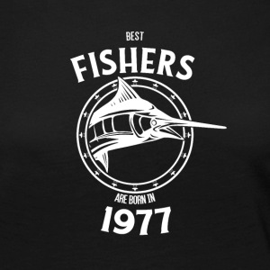Present for fishers born in 1977 - Women's Premium Longsleeve Shirt