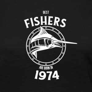 Present for fishers born in 1974 - Women's Premium Longsleeve Shirt