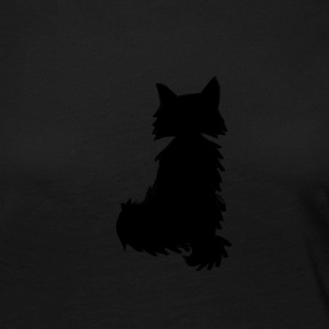 Fox silhouette black and white - Women's Premium Longsleeve Shirt