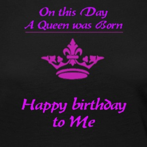Happy Birthday queen - Women's Premium Longsleeve Shirt
