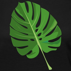 tropical leaves - Women's Premium Longsleeve Shirt