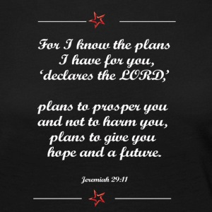 For I know the plan I have for you shirt - Women's Premium Longsleeve Shirt