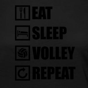 EAT SLEEP VOLLEY REPEAT - Frauen Premium Langarmshirt