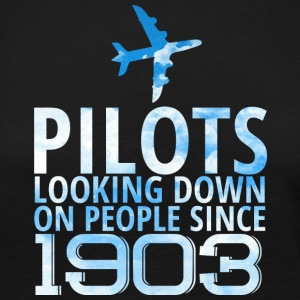 Pilot: Pilots Looking Down On People Since 1903. - Women's Premium Longsleeve Shirt