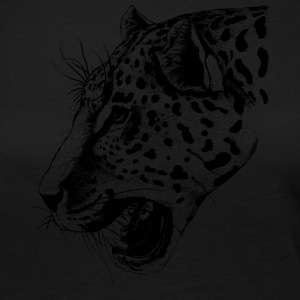Wild leopard black and withe - Women's Premium Longsleeve Shirt