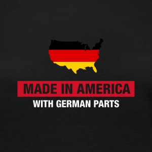 Made In America With German Parts Germany flag - Women's Premium Longsleeve Shirt