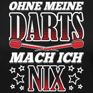 WITHOUT MY DARTS MACH ICH NIX - Women's Premium Longsleeve Shirt