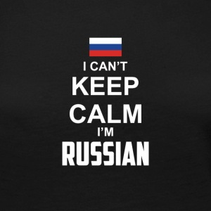 I cant Keep Calm in Russian - Premium langermet T-skjorte for kvinner