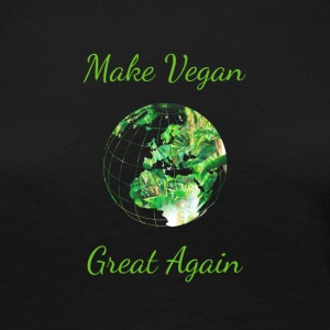 Make vegan great again - Women's Premium Longsleeve Shirt
