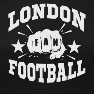 London Football Fan - Premium langermet T-skjorte for kvinner