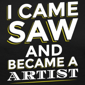 I CAME SAW AND BECAME A ARTIST - Frauen Premium Langarmshirt