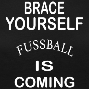 Brace Yourself Football is Coming - Blanc - T-shirt manches longues Premium Femme
