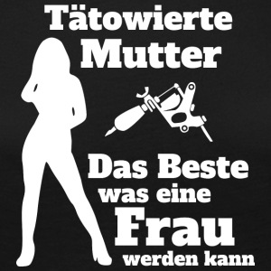 Tattoo Mutter W - Frauen Premium Langarmshirt
