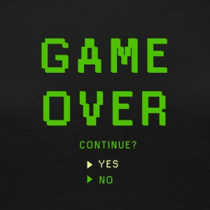 Game Over. Continue? YES - NO - Frauen Premium Langarmshirt