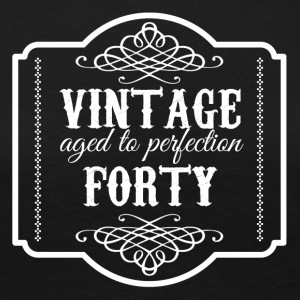 40th Birthday: Vintage Aged To Perfection Forty - Women's Premium Longsleeve Shirt