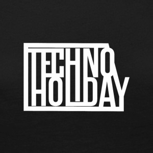 techno Holiday - Långärmad premium-T-shirt dam