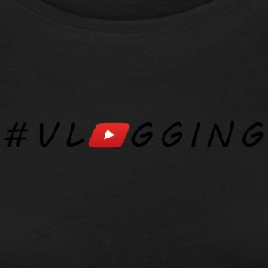 YouTube #Vlogging - Frauen Premium Langarmshirt