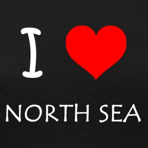 I Love North Sea - Frauen Premium Langarmshirt