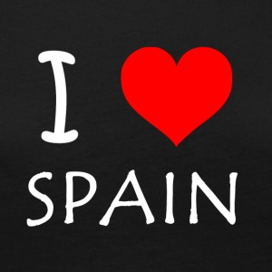 I Love Spain - Frauen Premium Langarmshirt