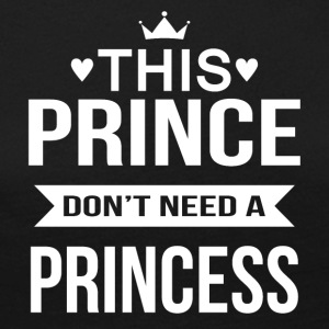 This Prince do not need a Princess - Women's Premium Longsleeve Shirt