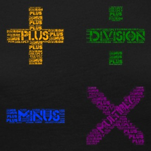 Plus Minus Multiply & Divison - Women's Premium Longsleeve Shirt