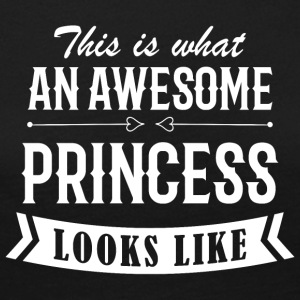 Awesome Princess - Premium langermet T-skjorte for kvinner