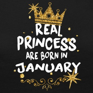 Real princesses are born in January! - Women's Premium Longsleeve Shirt