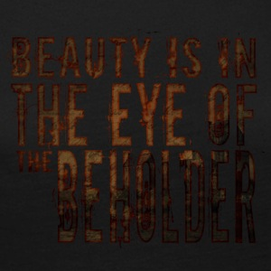 Beauty is in the mind of the beholder - Women's Premium Longsleeve Shirt
